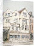 King's Arms Inn, Moorfields, with decorative moulding on the front, City of London by