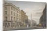 New Bridge Street, City of London by William James Bennett