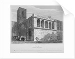 Church of St Matthew, Friday Street, City of London by Joseph Skelton