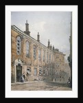 View of the Merchant Taylors' School in Suffolk Lane, City of London by