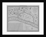 Map of London during the Saxon period by Anonymous