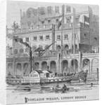 Adelaide Wharf, London Bridge by Anonymous