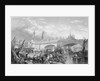 The opening of London Bridge by King William IV and Queen Adelaide by Anonymous