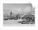 London Bridge under construction by George Cooke
