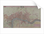 Map of London by