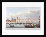 The opening of London Bridge by King William IV and Queen Adelaide by