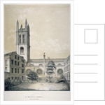 South-east view of the Church of St Michael, Cornhill, City of London by EJ Dickinson