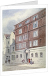 Residence of Titus Oates, Oat Lane, City of London by Frederick Napoleon Shepherd