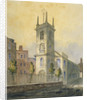 South-west view of the Church of St Olave Jewry, City of London by
