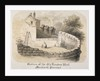 Bastion of London Wall near Monkwell Street, City of London by Anonymous
