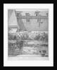 View of parts of London Wall and Old Bethlehem Hospital (Bedlam), City of London by John Thomas Smith