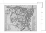 Map of the Parishes of St George's and St Saviour's, Southwark, London by