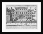 Justice Hall, Old Bailey, City of London, pre 1737 (1740) by John Bowles