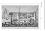 Interior view of the Sessions House, Old Bailey, City of London by