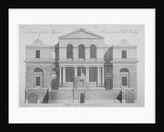 Front view of the Sessions House, Old Bailey, City of London by Anonymous
