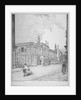 South-west view of Old Bethlehem Hospital, Moorfields and London Wall, City of London by