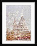 Funeral of the Duke of Wellington, St Paul's Cathedral, City of London, 18 November by