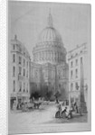 North-east view of St Paul's Cathedral, City of London by Sir Christopher Wren