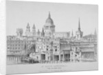 St Paul's Cathedral from Southwark Bridge, City of London by Anonymous