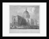 North-east view of St Paul's Cathedral, City of London by