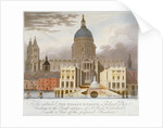 Proposed riverfront access to St Paul's Cathedral, City of London by GS Tregear