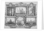 Six views of St Paul's Cathedral, City of London by Anonymous