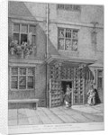 View of the Poultry Compter, City of London by