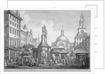 View of the Stocks Market, Poultry, City of London by