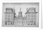 Elevation of St Paul's School, City of London by