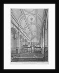 Interior of the Church of St Peter upon Cornhill looking east, City of London by Thomas Dale