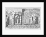 Ruins of the Church of St Peter on the corner of Leadenhall Street, City of London by