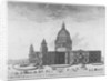 South-west view of St Paul's Cathedral, City of London by Anonymous