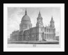 North-west view of St Paul's Cathedral, City of London by John Buckler