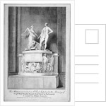 Monument to Captain Richard Rundle Burges, St Paul's Cathedral, City of London by Anonymous