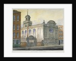 South-east view of the Church of St Stephen, Coleman Street, City of London by William Pearson