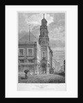 View of the Royal Exchange, looking south-west, City of London by