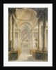 Interior of the Church of St Stephen Walbrook, City of London by Frederick Mackenzie
