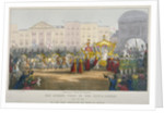 View of Temple Bar during Queen Victoria's visit to the City of London in 1837 by