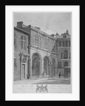 Salters' Hall and part of the Salters' Hall Chapel for Protestant Dissenters, City of London by Thomas Dale