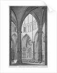 Interior view of Temple Church, City of London by James Newton