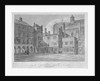 View of Temple Church from the cloisters, City of London by