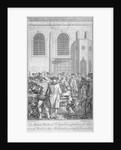 Bell Man at St Sepulchre Church, City of London by James Pollard