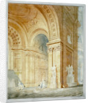 Interior of St Paul's Cathedral, City of London by Anonymous