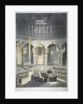 The ceremony of Lord Nelson's burial at St Paul's Cathedral, City of London by JR Hamble