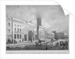 Entrance to the Grand Junction Railway terminal, Skinner Street, near Holborn Viaduct, London by Anonymous
