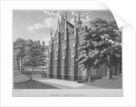 South-west view of Middle Temple Hall, Middle Temple, City of London by Anonymous