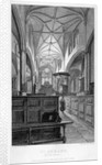 Interior view of the Church of St Alban, Wood Street, City of London by J Lemon
