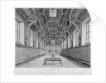 Interior view of Middle Temple Hall, City of London by James Peller Malcolm