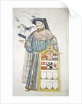 Unidentified London alderman in aldermanic robes by