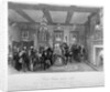 Council chamber of Vintners' Hall, City of London by E Radclyffe